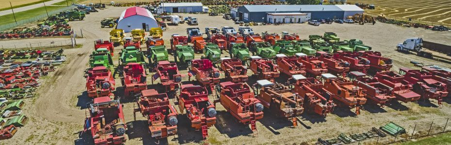 Medicine Hat Tractor Salvage Inc. yard